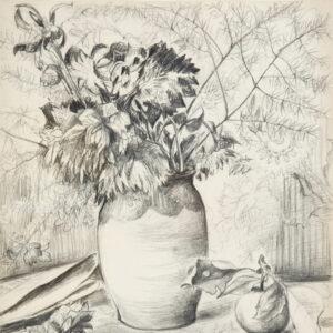 Гончарова Наталья, «Осенний натюрморт»
