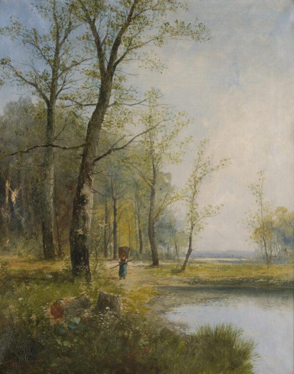 Кауфманн Карл, «Венский лес», конец XIX – начало XX вв.