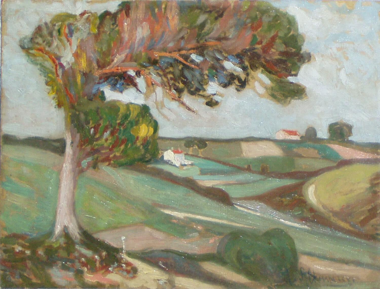 Альтман Александр, пейзаж, 1900