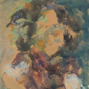 Зверев Анатолий Тимофеевич (1931–1986) «Портрет девушки». 1957.