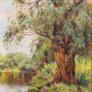 Федорова Мария Алексеевна«Ива у реки» 1890-е