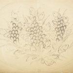 Куприн Александр Васильевич «Натюрморт с виноградом» конец 1910-х