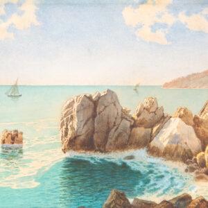 Премацци Людвиг Осипович «Черноморский берег» 1891