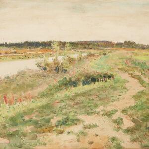 Ладыженский Геннадий Александрович «Пейзаж» 1910-е