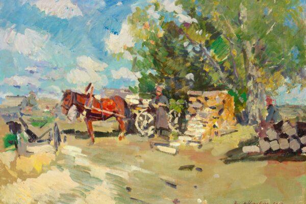 Коровин Константин Алексеевич «Охотино» 1917