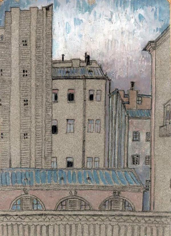 Лукомский Георгий Крескентьевич «Парижские пейзажи» 1920-е