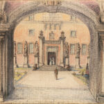 Лукомский Георгий Крескентьевич «Пейзажи Лиссабона» 1920-е