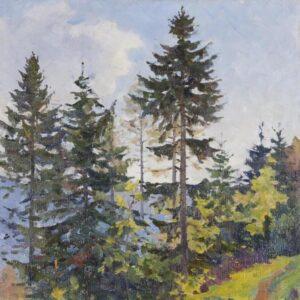 Налбандян Дмитрий Аркадьевич«Пейзаж» 1985