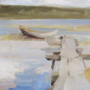 Архипов Абрам Ефимович «Лодки» 1890-е