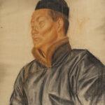 Яковлев Александр Евгеньевич, Эскиз к «Театральная ложа в Пекине» 1910-е