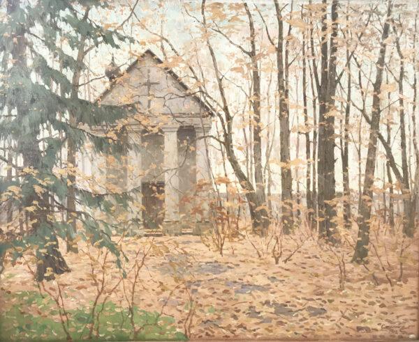 Столица Евгений Иванович «Старая часовня» 1912 г.