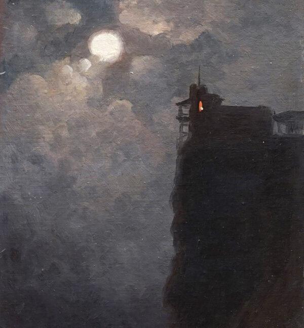 Костанди Харлампий Дмитриевич «Лунная ночь. Ласточкино гнездо»
