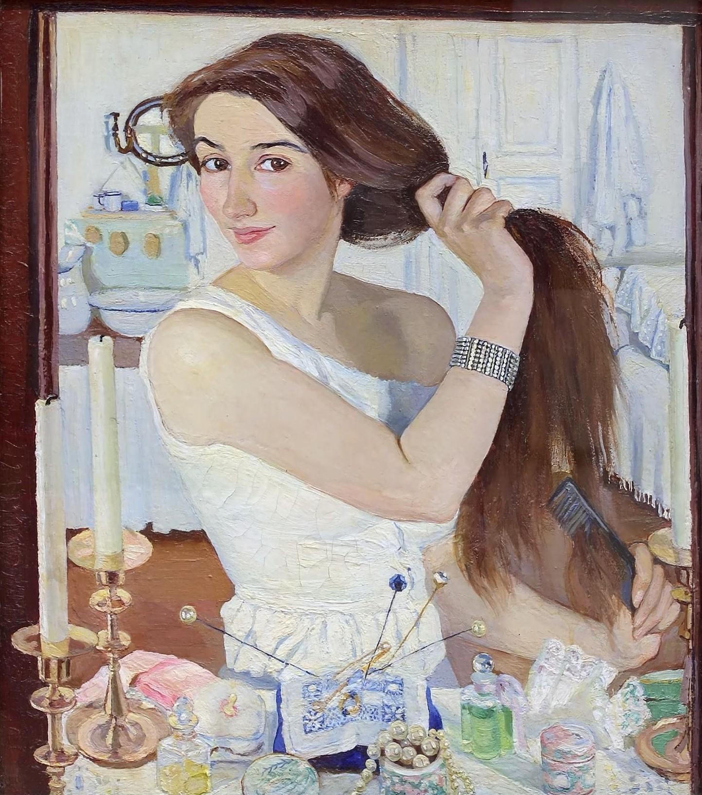 Серебрякова Зинаида Евгеньевна«Женский портрет» 1937 г.