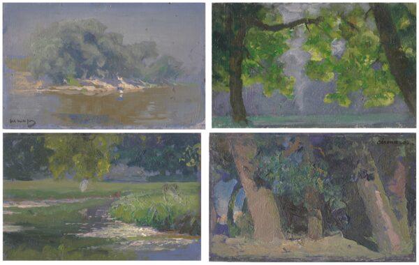 Шмаров Павел Дмитриевич «Пейзаж» 1920