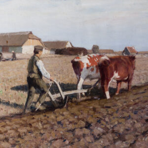 Егоров Андрей Афанасьевич «На пашне» 1910-е гг.