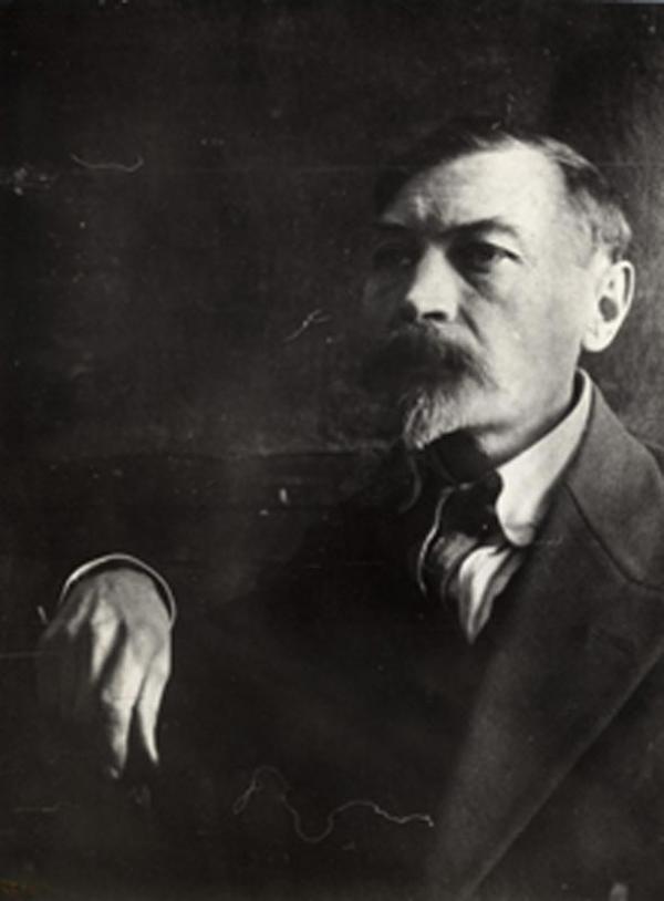 Уткин Пётр Саввич «Терасса ночью» 1910-е