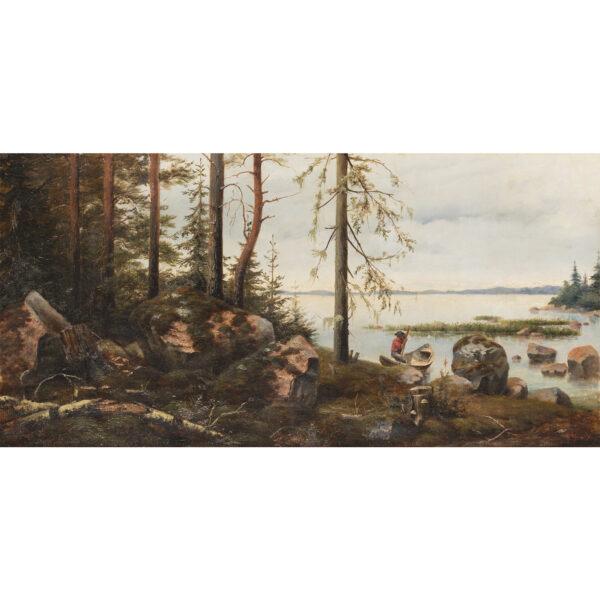 Шрейбер Василий Павлович, Финский залив 1880-е гг.