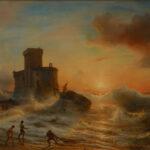 Гюден Теодор, Кораблекрушение у берегов Генуэзского залива 1833 г. Gudin Jean Antoine Thеodore de