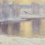 Гермашев Михаил Маркианович, Зимний пейзаж, 1900-1910-е гг.