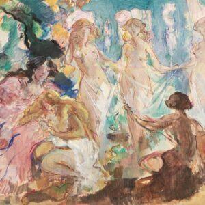 Кузнецов Константин, «Три Грации» 1910-е гг.
