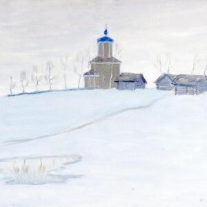 Бялыницкий-Бируля Витольд, «В конце зимы» 1910-е - 1920-е гг.