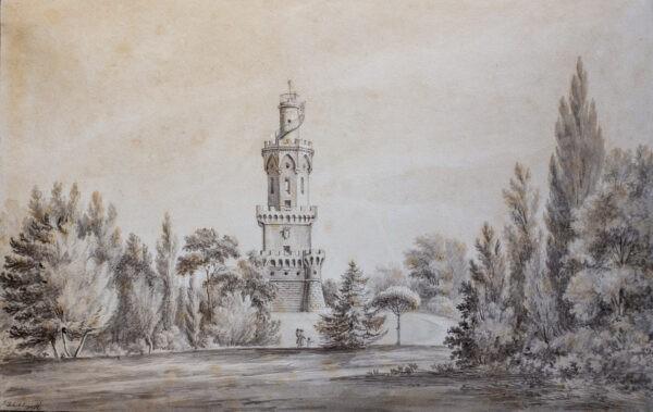 Адмирал Чичагов Павел Васильевич, «Пейзаж, Франция» 1810-1820-е гг.