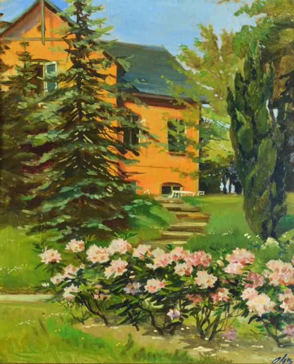 Великая Княгиня Ольга Александровна Романова, «Сад перед домом. Дания» 1930-е гг.