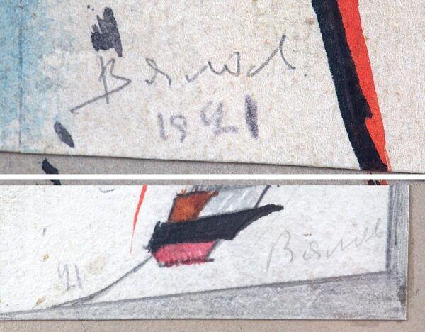 Вялов Константин, «Конструкция» 1921 г.