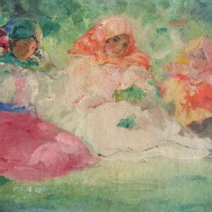 Шмаров Павел, «Три красавицы» 1920-е гг.