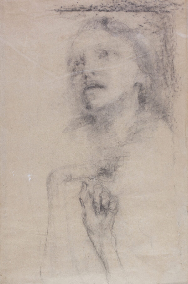 Фешин Николай, «Обнаженная»; «Женская голова. Руки»