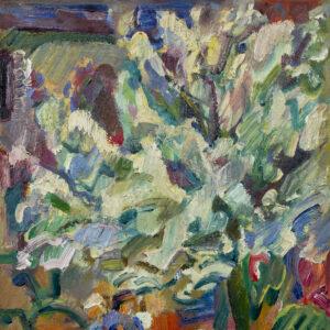 Тархов Николай, «Вид на сад художника в Орсэ»1912 г.