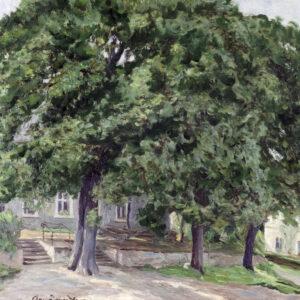 Васнецов Аполлинарий, «Городской пейзаж»1910-е гг.
