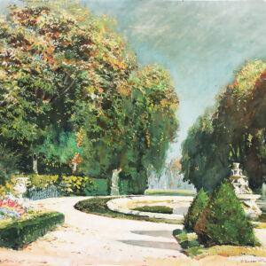 Вещилов Константин, «Версальский парк» 1930-е гг.