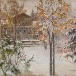 Орлов Александр, «Усадьба зимой» 1900-е гг.