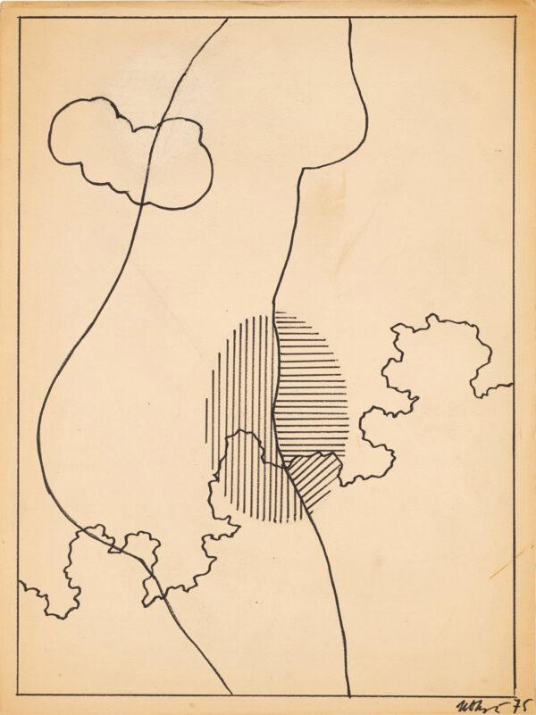 Чуйков Иван, «Композиция» 1975 г.